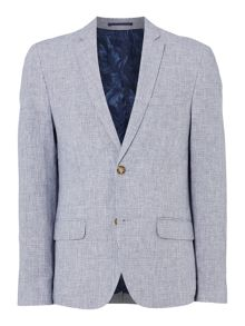Linea Mayfair Puppytooth Linen Blazer