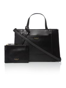 Radley Hardwick black medium multiway bag