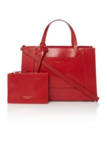 Radley Hardwick red medium multiway bag