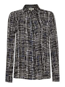 Linea Check print shirt