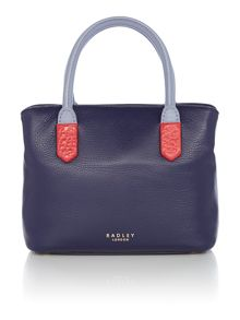 Radley Gainsborough navy small multiway bag