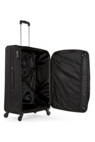 Antler Lipari black 4 wheel large suitcase
