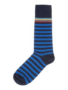 Paul Smith London Multi Top Striped Socks