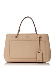 DKNY Saffiano satchel bag