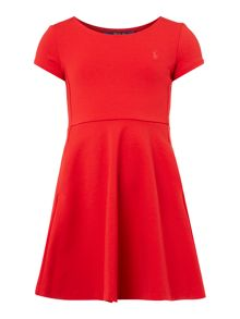 Polo Ralph Lauren Girls Cap Sleeve Dress
