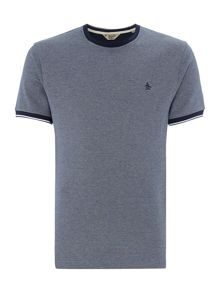 Original Penguin Contrast-Trims Short-Sleeve T-shirt