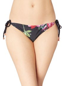 Ted Baker Citrus bloom tie side bikini pant
