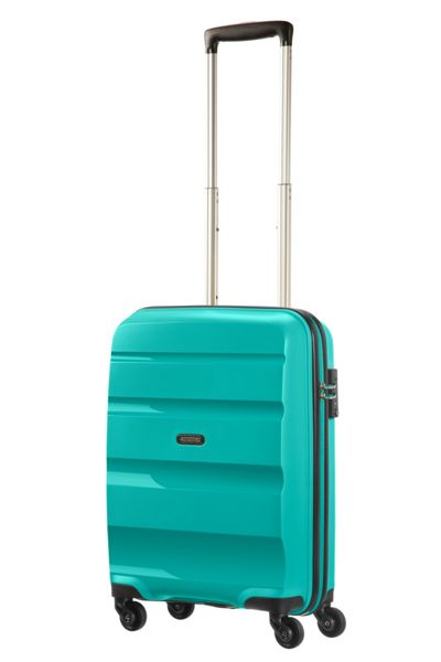 American Tourister Bon Air deep turquoise 4 wheel hard cabin case