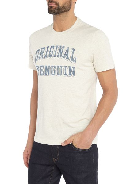 Original Penguin 3-D Graphic-Block T-shirt