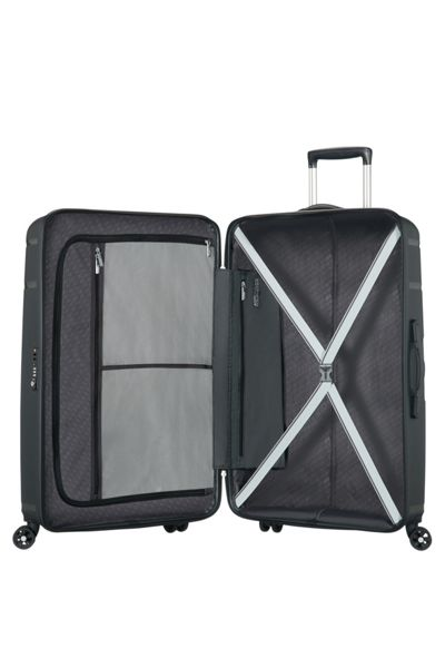 American Tourister Skytracer dark slate 4 wheel 68cm medium case