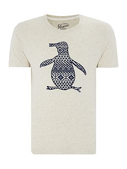 Fairisle Pete Crew-Neck Short-Sleeve T-shirt