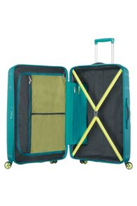 American Tourister Skytracer spring green 4 wheel 77cm large case