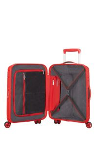 American Tourister Skytracer formula red 4 wheel 55cm cabin case