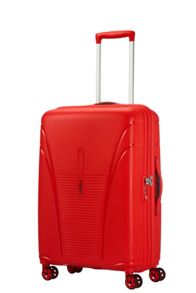 American Tourister Skytracer formula red 4 wheel 68cm medium case