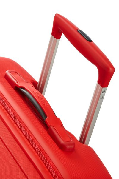 American Tourister Skytracer formula red 4 wheel extra large case