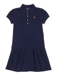 Polo Ralph Lauren Girls Dress Polo Short Sleeves