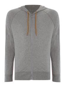 Paul Smith London Jersey Zip Up Hooded Sweatshirt