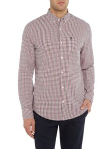 Original Penguin Gingham Button-Through Long-Sleeve Shirt