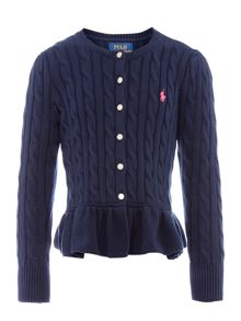 Polo Ralph Lauren Girls Knitwear Long Sleeve Cardigan