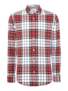 Original Penguin Twill Plaid-Check Long-Sleeve Shirt