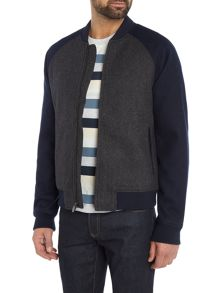Original Penguin Wool-Blend Varsity-Jacket