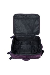 Lipault Original plume purple 4 wheel medium case