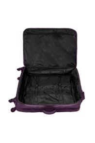 Lipault Original plume purple 4 wheel large suitcase