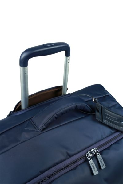 Lipault Original plume navy 4 wheel soft large suitcase