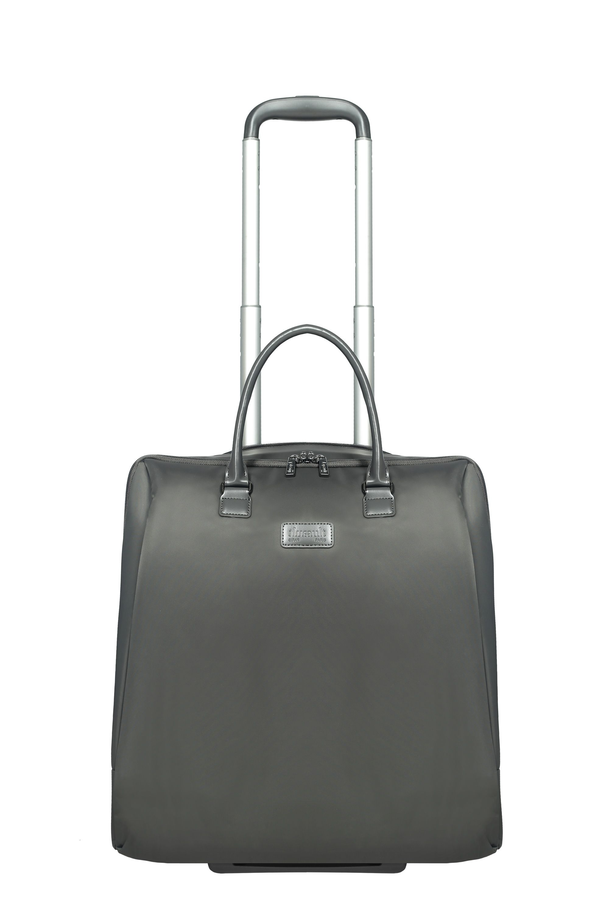 Lipault Lipault Lady plume anthracite grey rolling tote 15 inch, Grey