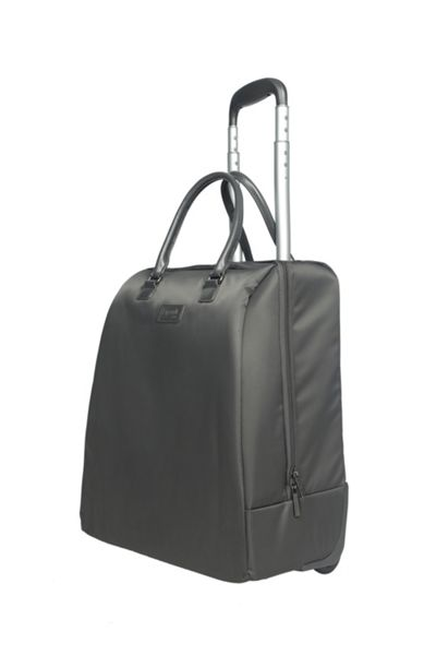 Lipault Lady plume anthracite grey rolling tote 15 inch