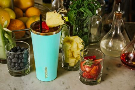 Root 7 Corkcicle Small Tumbler, Turquoise