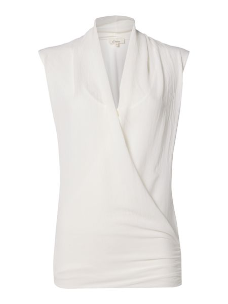 Linea Sleeveless cross over top