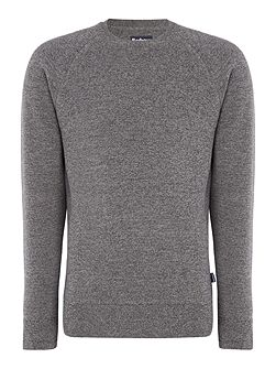 Becket merino crew neck jumper