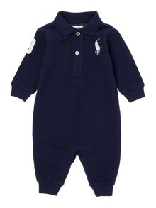 Polo Ralph Lauren Baby Boy Long Sleeve All in One