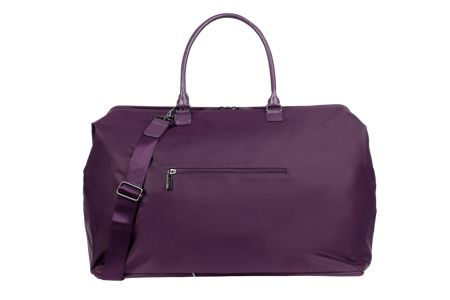 Lipault Lady plume purple large weekend bag