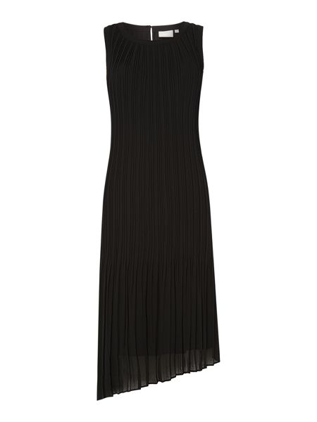 InWear Pleated tie-waist midi dress