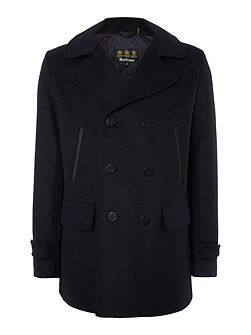 Batten wool pea coat