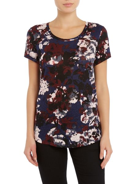 InWear Short sleeve flower print t-shirt