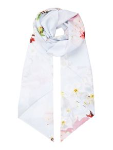 Ted Baker Oriental blossom skinny scarf