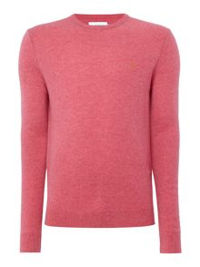 Farah Rosecroft crew neck lambswool logo jumper