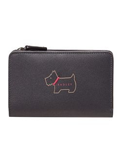 Heritage dog medium purse