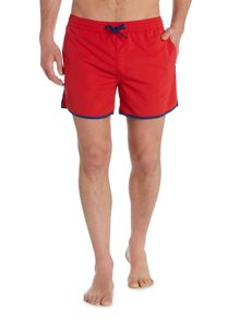 Criminal Shorter Spec Plain Swim Short