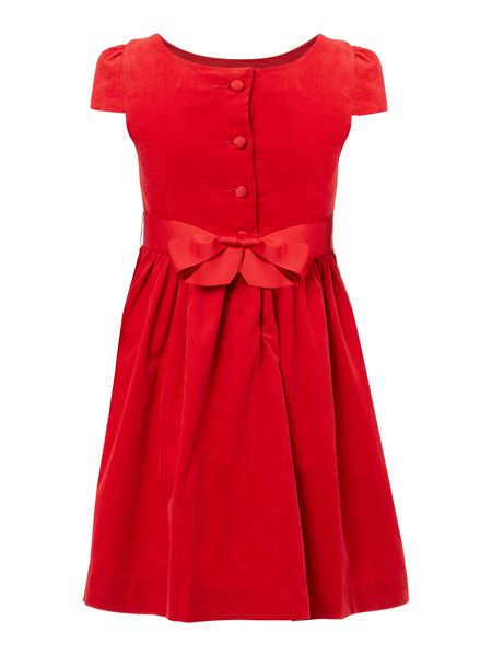 Polo Ralph Lauren Girls Bow Dress