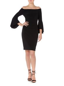 Lauren Ralph Lauren  Bell sleeve dress