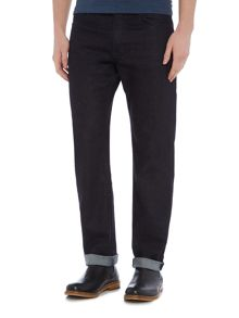 Hugo Boss Albany comfort fit dark wash jeans