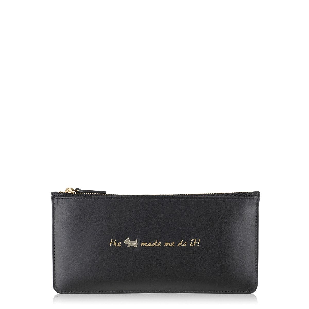 Radley Excuses large zip pouch purse Black