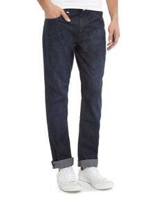 Hugo Boss Maine regular fit dark used jeans