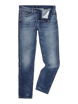 Delaware slim fit light wash jeans