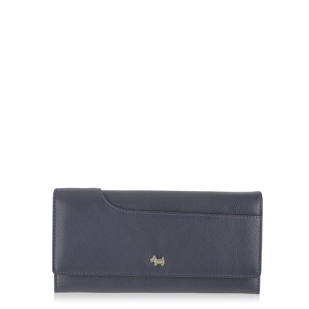 Radley Pocket bag flapover matinee purse Navy
