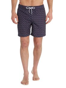 Howick Two Colour Anchor Print Swim Short